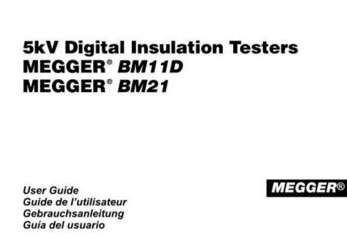 Biddle BM-101-4 Cal Operating Guide by download Mauritron #309518