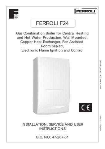 Ferroli F24 by download Mauritron #324249