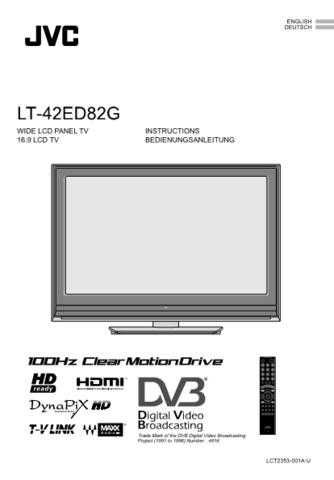 JVC LCT2353-001A-U_DE Operating Guide by download Mauritron #292372