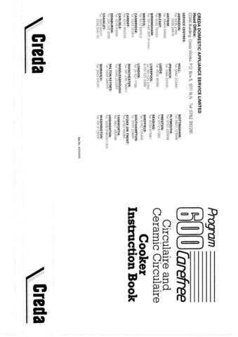 Creda HB49705 Operating Guide by download Mauritron #312956