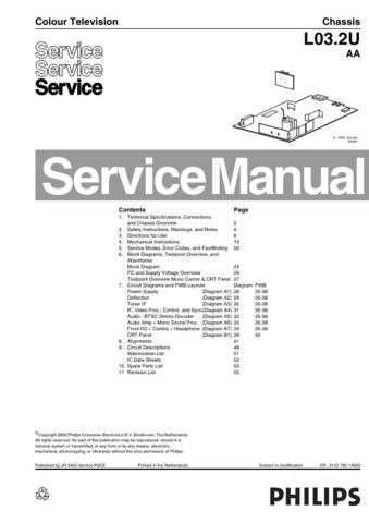 NAP L03.2UAA Service Manual by download Mauritron #323530