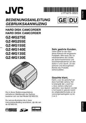 JVC LYT1673-002C 2 Operating Guide by download Mauritron #297544
