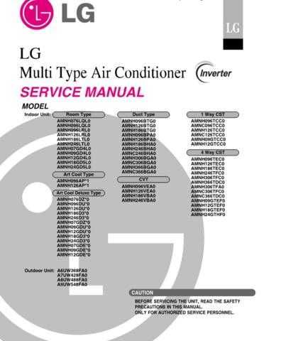 LG LG-AMNH12GD4L0 Manual by download Mauritron #304861