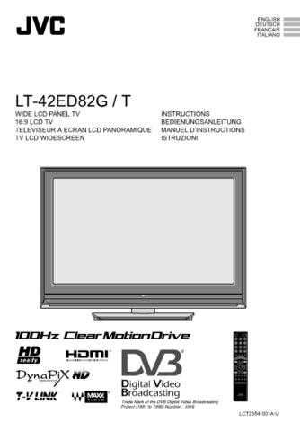 JVC LCT2354-001A-U_IT Operating Guide by download Mauritron #292377