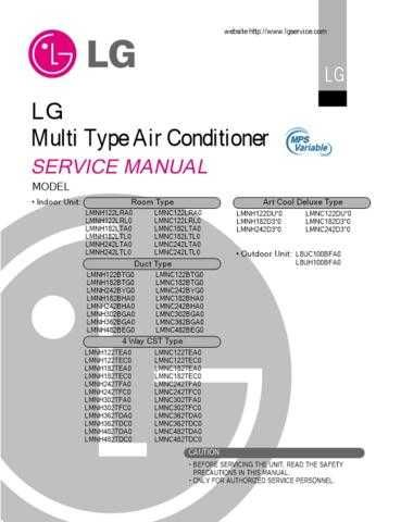 LG A22009L CDC-2182 Manual by download Mauritron #304422