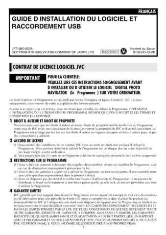 JVC LYT1085-003A 2 Operating Guide by download Mauritron #294989