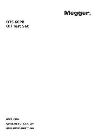 Biddle OTS-60SX Operating Guide by download Mauritron #309753