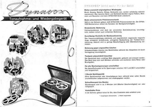 Revox Dynavox Brochure by download Mauritron #313056