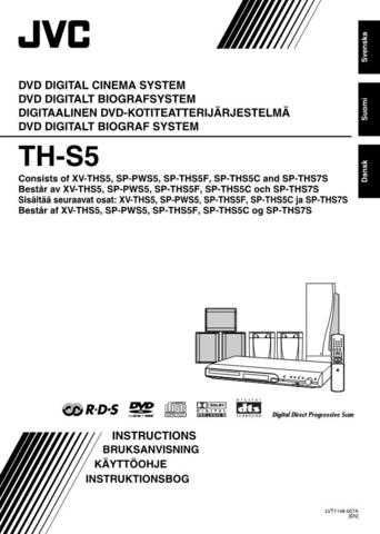 JVC TH-S5-1 Service Manual by download Mauritron #284013