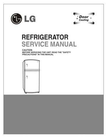 LG LG-REF SERVICE MANUAL (IL)_2 Manual by download Mauritron #304986