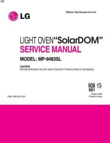 LG MFL32147401 Manual by download Mauritron #305557