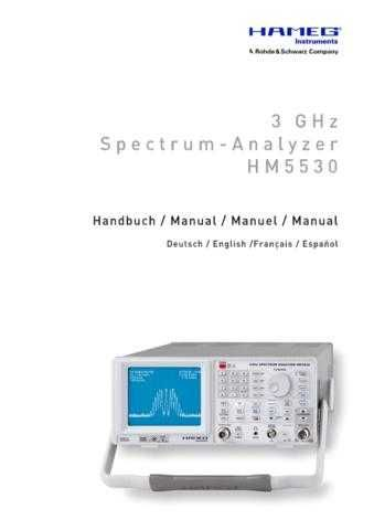 Hameg HM5530 Operating Guide by download Mauritron #307203