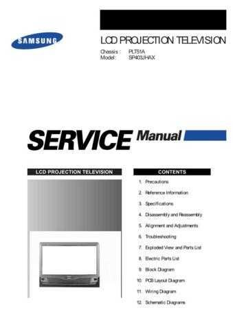 Samsung SP403 Service Manual by download Mauritron #332859