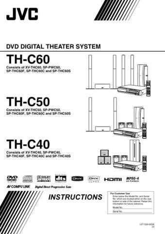 JVC TH-C6-3 Service Manual by download Mauritron #276848