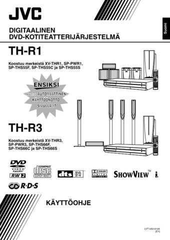 JVC TH-R3-3 Service Manual by download Mauritron #283940