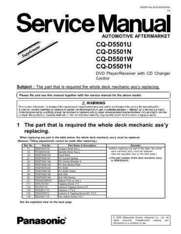 Sharp CQ-D5501U Manual by download Mauritron #298194