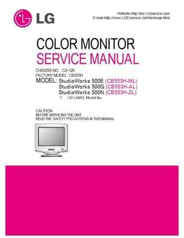 LG 3828TSL092A(CB553H_FULL)_2 Manual by download Mauritron #304187
