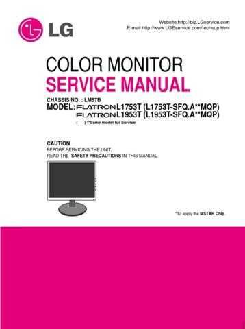 LG 36713636(L17_1953T-SFQ_E(M)_3 Manual by download Mauritron #303693