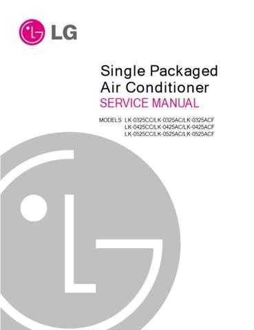LG 3828A30027U Manual by download Mauritron #304082