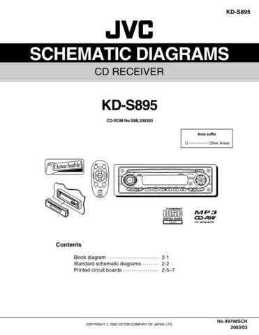 JVC KD-S895_schem Service Manual by download Mauritron #275201