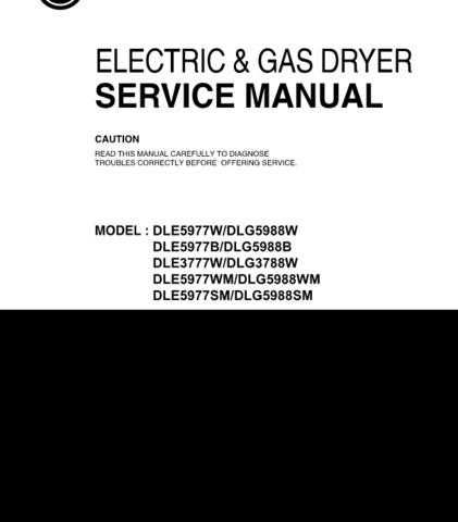 LG DLG5988WM Manual by download Mauritron #304683
