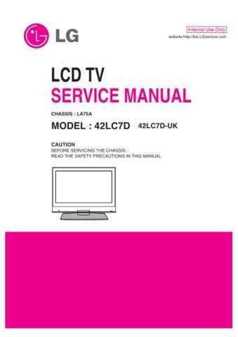 LG MFL39166201_42LC7D-UK Manual by download Mauritron #305715