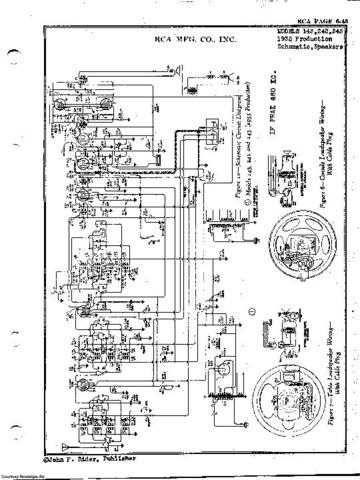 RCA Radiola 25 Wireless Schematics Circuits by download Mauritron #324782