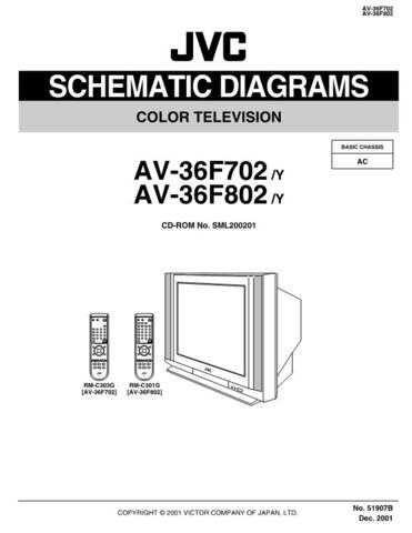 JVC AV-36F702SCH Service Manual by download Mauritron #278930