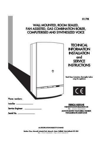 Ferroli XIGNAL CE by download Mauritron #324232