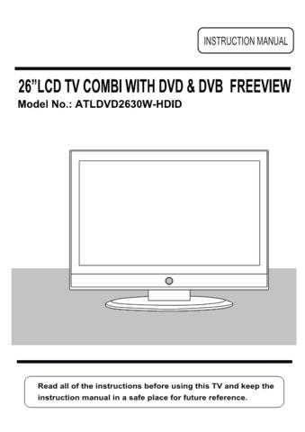 Akura ATLDVD2630W-HDID IB Service Manual by download Mauritron #330314