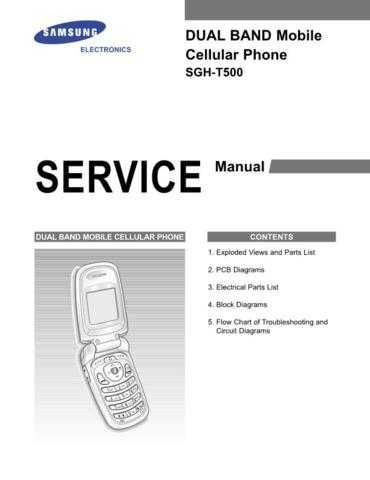 Samsung SGH-T500 Mobile Phone Service Manual by download Mauritron #306439
