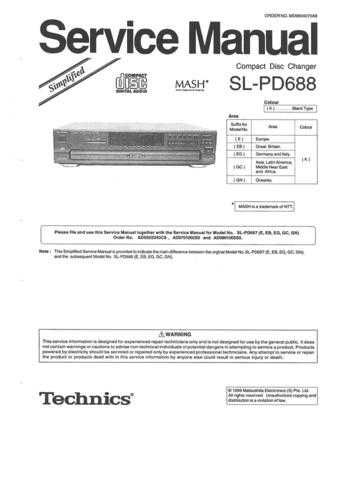 Panasonic SM-97011 Manual by download Mauritron #301715