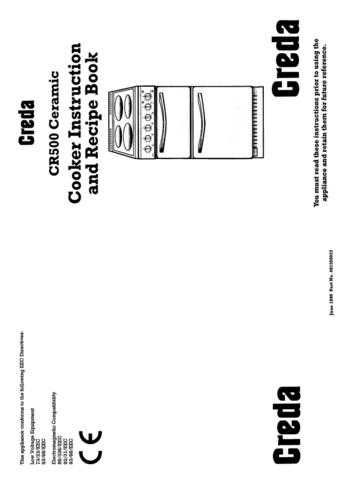 Creda HB49127 Operating Guide by download Mauritron #312928