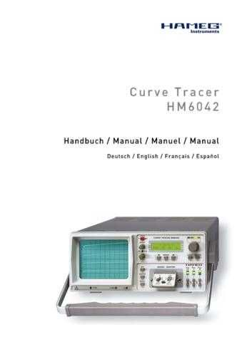 Hameg HM604-3 Operating Guide by download Mauritron #307210