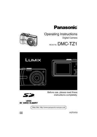 Panasonic DMC-TZ1=-=- Manual by download Mauritron #298902