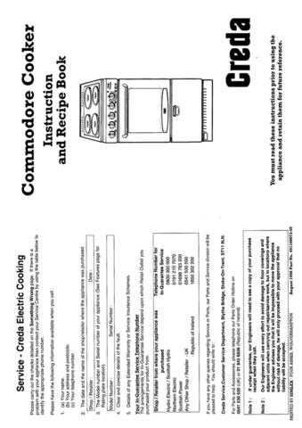 Creda 49119 Operating Guide by download Mauritron #312771