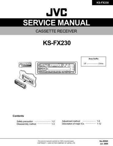 JVC JVC-HR-S7500EK Service Manual by download Mauritron #274759