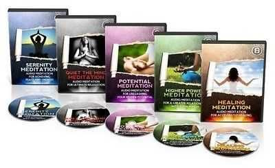 GUIDED MEDITATION (RELAXATION, PEACE, SPIRITUAL) MP3 AUDIO TRAINING COURSE.