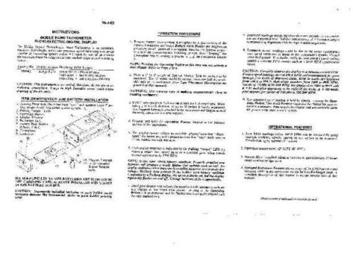 Megger 35-J-82 Operating Guide by download Mauritron #310068