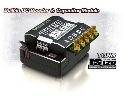 SKYRC TORO 1S120 ESC For 1/12 Onroad Competition Built-in DC Booster&Capacitor