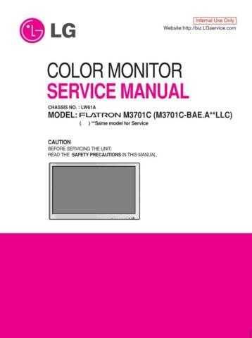 LG MFL36713665(M3701C-S_BAE_E) Manual by download Mauritron #305652