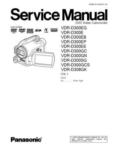 Panasonic VDR-D300EG by download Mauritron #302646