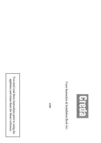 Creda HB41300 Operating Guide by download Mauritron #312867