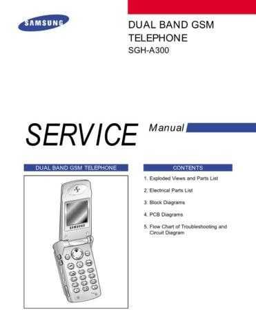 Samsung SGH-A300 Mobile Phone Service Manual by download Mauritron #306277