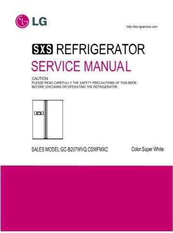LG GC-B207WVQ.CSWFMXC OK Manual by download Mauritron #304717