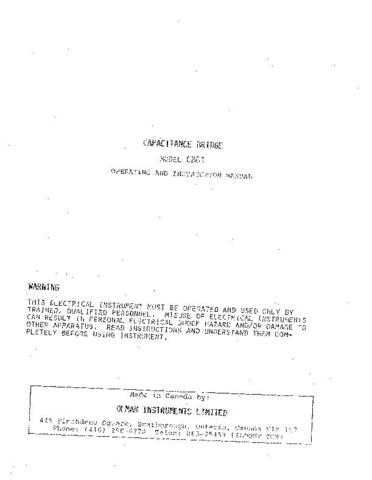 Biddle CB-61 a Operating Guide by download Mauritron #309573