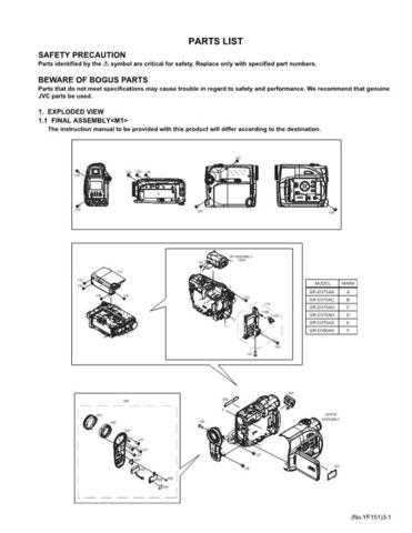 JVC GR-D350US par Service Manual by download Mauritron #280590