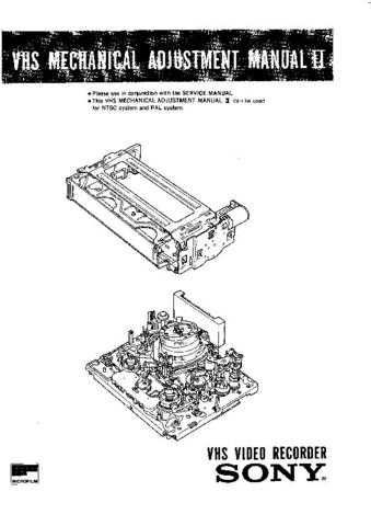 Sony TC-K590 Technical Manual by download Mauritron #331606