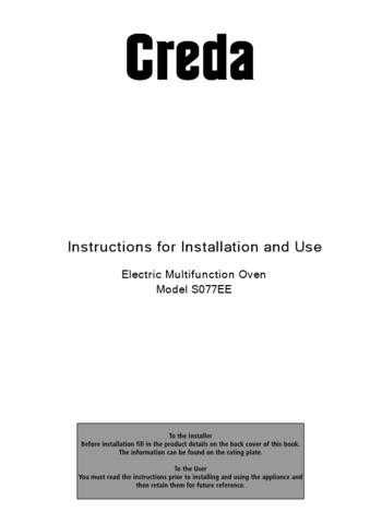 Creda S077EE Operating Guide by download Mauritron #313004