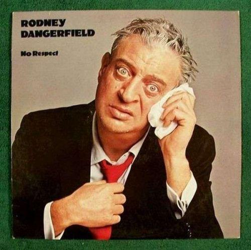 "RODNEY DANGERFIELD "" No Respect "" 1980 Comedy LP"
